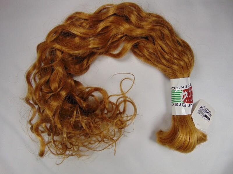 """Loose Curly 24"""" Clr 8/3 - 3.5oz"""