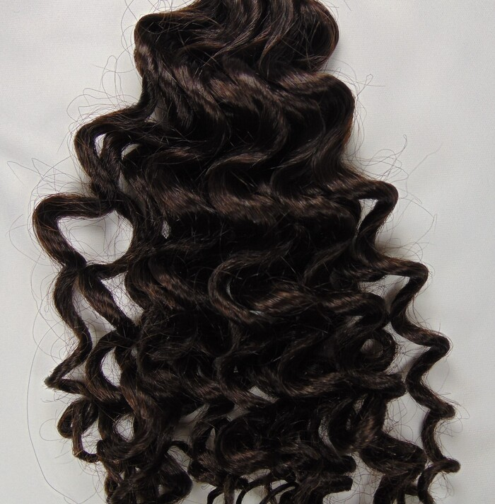 """Loose Curly by Hand 20"""" Clr 4/0 - 1.71oz"""