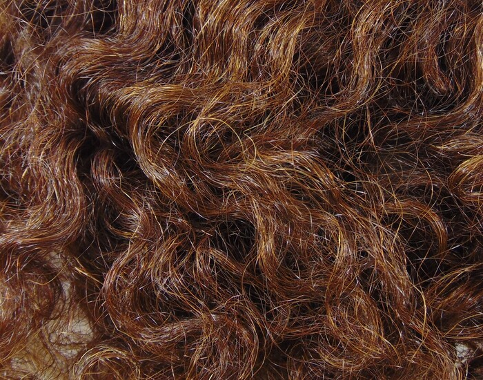 """Weft Curly by Hand 16""""- 18"""" Clr Mix 9/0   7/0   5/0 - 1.45oz"""