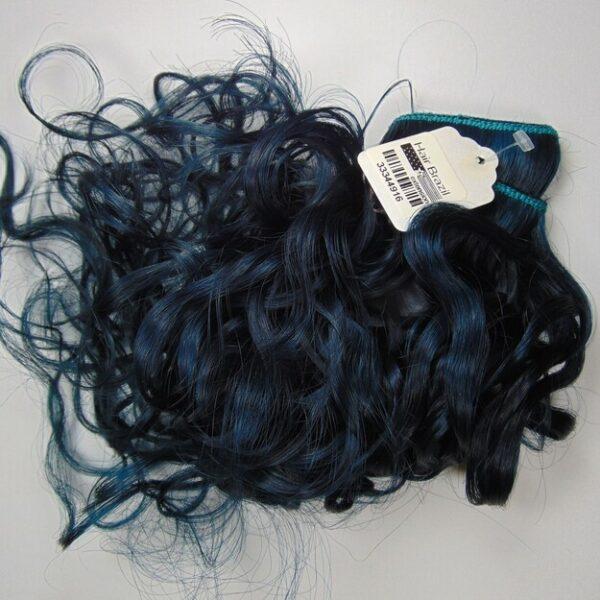 "Fast Clip Curly 20"" Clr Blue - 9.5"""