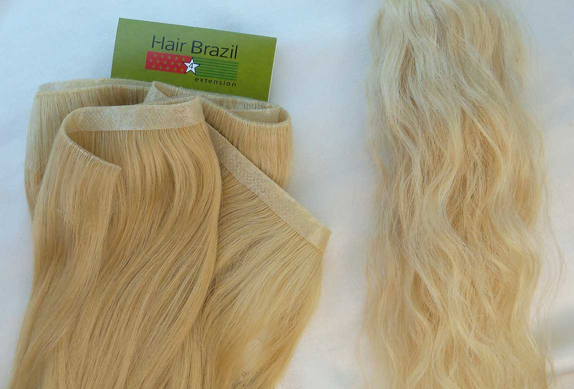 Skin Weft Hair - Curly by Hand