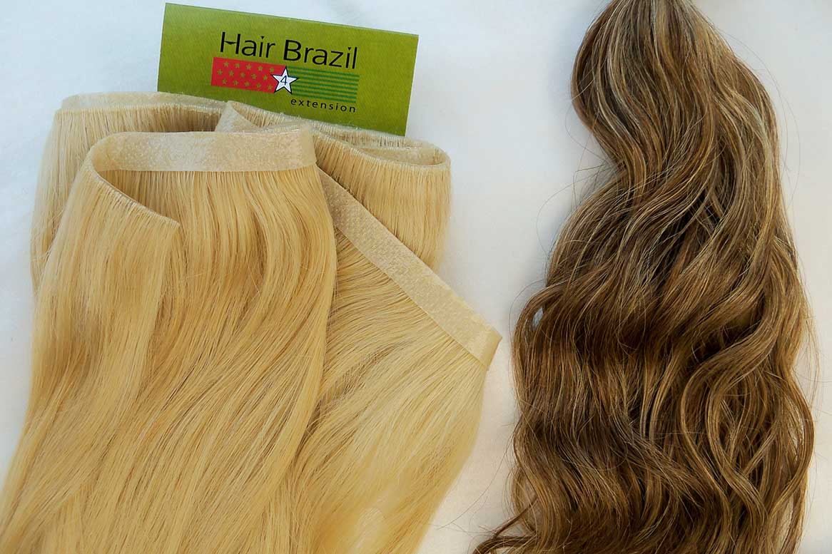 Skin Weft Hair - Curly